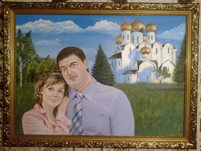 Заказать портрет в Ярославле Портрет по фото
