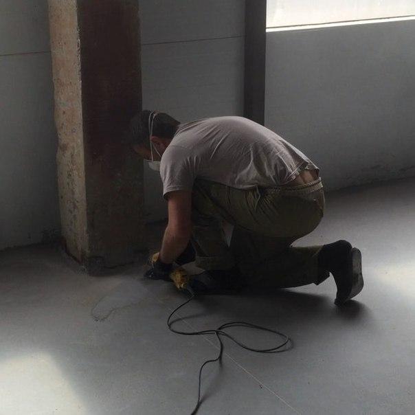ремонт бетонных полов от компании Базис